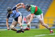 5 September 2020; Seán Phelan of Nenagh Éire Óg in action against Tomás McGrath of Loughmore-Castleiney during the Tipperary County Senior Hurling Championship Semi-Final match between Nenagh Éire Óg and Loughmore/Castleiney at Semple Stadium in Thurles, Tipperary. Photo by Piaras Ó Mídheach/Sportsfile