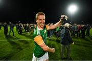 5 September 2020; David Walsh of Dungannon celebrates following the Tyrone County Senior Football Championship Semi-Final match between Dungannon Thomas Clarke GAA and Errigal Ciaran at Healy Park in Omagh, Tyrone. Photo by David Fitzgerald/Sportsfile