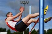6 September 2020; Martin Curley of Ennis Track AC, Meath, competing in the M40 Men's High Jump event during the Irish Life Health National Masters Track and Field Championships at Morton Stadium in Santry, Dublin. Photo by Sam Barnes/Sportsfile