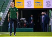 6 September 2020; James McClean of Republic of Ireland ahead of the UEFA Nations League B match between Republic of Ireland and Finland at the Aviva Stadium in Dublin. Photo by Stephen McCarthy/Sportsfile