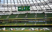 6 September 2020; A general view of the action during the UEFA Nations League B match between Republic of Ireland and Finland at the Aviva Stadium in Dublin. Photo by Stephen McCarthy/Sportsfile