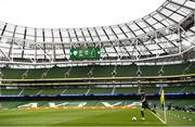 6 September 2020; Robbie Brady of Republic of Ireland during the UEFA Nations League B match between Republic of Ireland and Finland at the Aviva Stadium in Dublin. Photo by Stephen McCarthy/Sportsfile
