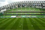 6 September 2020; A general view of action during the UEFA Nations League B match between Republic of Ireland and Finland at the Aviva Stadium in Dublin. Photo by Seb Daly/Sportsfile