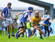 6 September 2020; AJ Murphy of Na Fianna is tackled by Paul Doherty of Ballyboden St Enda's during the Dublin County Senior Hurling Championship Semi-Final match between Ballyboden St Enda's and Na Fianna at Parnell Park in Dublin. Photo by Piaras Ó Mídheach/Sportsfile