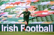 6 September 2020; Aaron Connolly of Republic of Ireland during the UEFA Nations League B match between Republic of Ireland and Finland at the Aviva Stadium in Dublin. Photo by Stephen McCarthy/Sportsfile