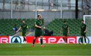 6 September 2020; Aaron Connolly of Republic of Ireland during the UEFA Nations League B match between Republic of Ireland and Finland at the Aviva Stadium in Dublin. Photo by Seb Daly/Sportsfile