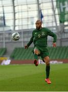 6 September 2020; David McGoldrick of Republic of Ireland during the UEFA Nations League B match between Republic of Ireland and Finland at the Aviva Stadium in Dublin. Photo by Seb Daly/Sportsfile