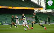 6 September 2020; James McClean of Republic of Ireland in action against Tim Sparv of Finland during the UEFA Nations League B match between Republic of Ireland and Finland at the Aviva Stadium in Dublin. Photo by Seb Daly/Sportsfile