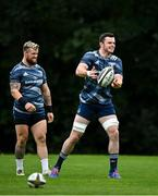 7 September 2020; James Ryan, right, and Andrew Porter during Leinster Rugby squad training session at UCD in Dublin. Photo by Ramsey Cardy/Sportsfile