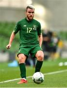 6 September 2020; Aaron Connolly of Republic of Ireland during the UEFA Nations League B match between Republic of Ireland and Finland at the Aviva Stadium in Dublin. Photo by Eóin Noonan/Sportsfile