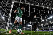 7 September 2020; Northern Ireland's Paddy McNair, left, and goalkeeper Bailey PeacockFarrell after conceding their fifth goal during the UEFA Nations League B match between Northern Ireland and Norway at the National Football Stadium at Windsor Park in Belfast. Photo by Stephen McCarthy/Sportsfile