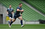 11 September 2020; Cian Healy during the Leinster Rugby captains run at the Aviva Stadium in Dublin. Photo by Ramsey Cardy/Sportsfile