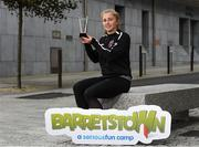 11 September 2020; Wexford Youths midfielder Ellen Molloy with her Barretstown / Women's National League Player of the Month award for August. Photo by Matt Browne/Sportsfile