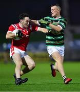 11 September 2020; Paudie Clifford of East Kerry in action against Thomas Kerins of St Brendan's during the Kerry County Senior Football Championship Semi-Final match between East Kerry and St Brendan's at Austin Stack Park in Tralee, Kerry. Photo by Piaras Ó Mídheach/Sportsfile