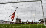 11 September 2020; Bohemians goalkeeper Stephen McGuinness makes a save during the SSE Airtricity League Premier Division match between Bohemians and Waterford at Dalymount Park in Dublin. Photo by Stephen McCarthy/Sportsfile