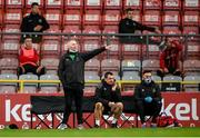 11 September 2020; Waterford manager John Sheridan during the SSE Airtricity League Premier Division match between Bohemians and Waterford at Dalymount Park in Dublin. Photo by Stephen McCarthy/Sportsfile