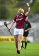 12 September 2020; Oisin Gough of Dicksboro celebrates after scoring a point during the Kilkenny County Senior Hurling Championship Semi-Final match between Dicksboro and O'Loughlin Gaels at UPMC Nowlan Park in Kilkenny. Photo by David Fitzgerald/Sportsfile
