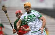 12 September 2020; Colin Fennelly of Ballyhale Shamrocks in action against Shane Donohoe of James Stephens during the Kilkenny County Senior Hurling Championship Semi-Final match between Ballyhale Shamrocks and James Stephens at UPMC Nowlan Park in Kilkenny. Photo by David Fitzgerald/Sportsfile