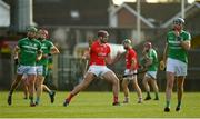 12 September 2020; Josh Ryan of Doon celebrates after scoring a long-range point during the Limerick County Senior Hurling Championship Semi-Final match between Doon and Kilmallock at LIT Gaelic Grounds in Limerick. Photo by Diarmuid Greene/Sportsfile