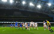 12 September 2020; Tom O'Toole of Ulster during the Guinness PRO14 Final match between Leinster and Ulster at the Aviva Stadium in Dublin. Photo by Ramsey Cardy/Sportsfile