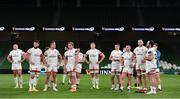 12 September 2020; Dejected Ulster players after the Guinness PRO14 Final match between Leinster and Ulster at the Aviva Stadium in Dublin. Photo by Ramsey Cardy/Sportsfile