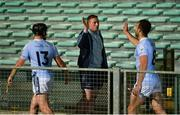 12 September 2020; Shane Dowling of Na Piarsaigh greets each of his team-mates including Peter Casey, left, and Thomas Grimes after the Limerick County Senior Hurling Championship Semi-Final match between Patrickswell and Na Piarsaigh at LIT Gaelic Grounds in Limerick. Photo by Diarmuid Greene/Sportsfile