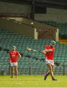 12 September 2020; Barry Murphy of Doon takes a free during the Limerick County Senior Hurling Championship Semi-Final match between Doon and Kilmallock at LIT Gaelic Grounds in Limerick. Photo by Diarmuid Greene/Sportsfile