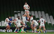 12 September 2020; Alan O'Connor of Ulster during the Guinness PRO14 Final match between Leinster and Ulster at the Aviva Stadium in Dublin. Photo by Brendan Moran/Sportsfile