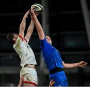 12 September 2020; Devin Toner of Leinster wins possession in the lineout ahead of Sam Carter of Ulster during the Guinness PRO14 Final match between Leinster and Ulster at the Aviva Stadium in Dublin. Photo by Ramsey Cardy/Sportsfile