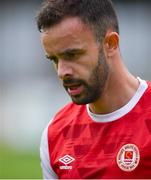 12 September 2020; Robbie Benson of St Patrick's Athletic during the SSE Airtricity League Premier Division match between St. Patrick's Athletic and Sligo Rovers at Richmond Park in Dublin. Photo by Ben McShane/Sportsfile