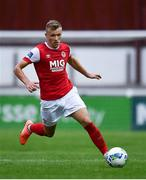 12 September 2020; Jamie Lennon of St Patrick's Athletic during the SSE Airtricity League Premier Division match between St. Patrick's Athletic and Sligo Rovers at Richmond Park in Dublin. Photo by Ben McShane/Sportsfile