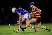 4 September 2020; Fergal Conway of Celbridge in action against Drew Costello of Ardclough during the Kildare County Senior Hurling Championship Round 1 match between Ardclough and Celbridge at Kilcock GAA in Kilcock, Kildare. Photo by Piaras Ó Mídheach/Sportsfile