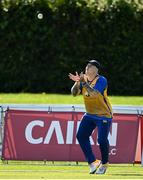 13 September 2020; Harvey Wootton of Cork County catches out Robert Gamble of YMCA during the All-Ireland T20 Semi-Final match between YMCA and Cork County at Pembroke Cricket Club in Dublin. Photo by Sam Barnes/Sportsfile