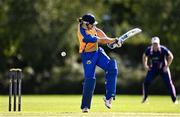 13 September 2020; Alex Gasper of Cork County plays a shot during the All-Ireland T20 Semi-Final match between YMCA and Cork County at Pembroke Cricket Club in Dublin. Photo by Sam Barnes/Sportsfile