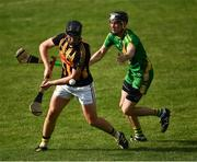 13 September 2020; Eoghan Donnellan of Ballyea in action against Aonghus Keane of Ballyea during the Clare County Senior Hurling Championship Semi-Final match between Ballyea and O'Callaghan's Mills at Cusack Park in Ennis, Clare. Photo by Ray McManus/Sportsfile