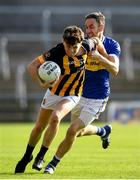 13 September 2020; Dara O'Callaghan of Crossmaglen Rangers in action against Gerard Campbell of Maghery Seán MacDiarmada during the Armagh County Senior Football Championship Final match between Crossmaglen Rangers and Maghery Seán MacDiarmada at the Athletic Grounds in Armagh. Photo by David Fitzgerald/Sportsfile