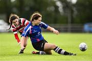 13 September 2020; Julieann Saning of Wexford in action against Sarah Nolan of Enniscorthy during the Southeast Women's Section Plate 2020/21 match between Enniscorthy and Wexford at Gorey RFC in Gorey, Wexford. Photo by Ramsey Cardy/Sportsfile