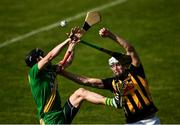 13 September 2020; Patrick Donnellan of O'Callaghan's Mills in action against Cillian Brennan of Ballyea during the Clare County Senior Hurling Championship Semi-Final match between Ballyea and O'Callaghan's Mills at Cusack Park in Ennis, Clare. Photo by Ray McManus/Sportsfile