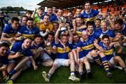 13 September 2020; Maghery Seán MacDiarmada players celebrate following the Armagh County Senior Football Championship Final match between Crossmaglen Rangers and Maghery Seán MacDiarmada at the Athletic Grounds in Armagh. Photo by David Fitzgerald/Sportsfile