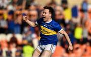13 September 2020; Paul Forker of Maghery Seán MacDiarmada celebrates following the Armagh County Senior Football Championship Final match between Crossmaglen Rangers and Maghery Seán MacDiarmada at the Athletic Grounds in Armagh. Photo by David Fitzgerald/Sportsfile