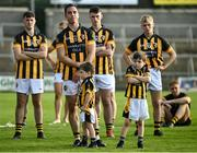 13 September 2020; Aaron Kernan, 5, of Crossmaglen Rangers looks on at the cup lift with his sons following the Armagh County Senior Football Championship Final match between Crossmaglen Rangers and Maghery Seán MacDiarmada at the Athletic Grounds in Armagh. Photo by David Fitzgerald/Sportsfile
