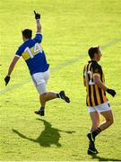 13 September 2020; Aidan Forker of Maghery Seán MacDiarmada celebrates after scoring his side's third goal during the Armagh County Senior Football Championship Final match between Crossmaglen Rangers and Maghery Seán MacDiarmada at the Athletic Grounds in Armagh. Photo by David Fitzgerald/Sportsfile