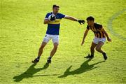 13 September 2020; Aidan Forker of Maghery Seán MacDiarmada in action against Tony O'Callaghan of Crossmaglen Rangers during the Armagh County Senior Football Championship Final match between Crossmaglen Rangers and Maghery Seán MacDiarmada at the Athletic Grounds in Armagh. Photo by David Fitzgerald/Sportsfile