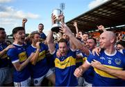 13 September 2020; Maghery Seán MacDiarmada celebrate following the Armagh County Senior Football Championship Final match between Crossmaglen Rangers and Maghery Seán MacDiarmada at the Athletic Grounds in Armagh. Photo by David Fitzgerald/Sportsfile