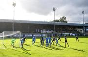 13 September 2020; A general view of the action during the SSE Airtricity League Premier Division match between Finn Harps and Derry City at Finn Park in Ballybofey, Donegal. Photo by Stephen McCarthy/Sportsfile