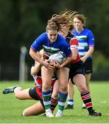 13 September 2020; Ciara Breen of Gorey during the Bryan Murphy Southeast Women's Cup match between Gorey and Wicklow at Gorey RFC in Gorey, Wexford. Photo by Ramsey Cardy/Sportsfile