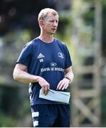 14 September 2020; Head coach Leo Cullen during Leinster Rugby squad training at UCD in Dublin. Photo by Ramsey Cardy/Sportsfile