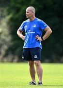14 September 2020; Senior coach Stuart Lancaster during Leinster Rugby squad training at UCD in Dublin. Photo by Ramsey Cardy/Sportsfile
