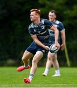14 September 2020; Ciarán Frawley during Leinster Rugby squad training at UCD in Dublin. Photo by Ramsey Cardy/Sportsfile