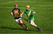 13 September 2020; Gerry Cooney of O'Callaghan's Mills is tackled by Marty O'Leary of Ballyea during the Clare County Senior Hurling Championship Semi-Final match between Ballyea and O'Callaghan's Mills at Cusack Park in Ennis, Clare. Photo by Ray McManus/Sportsfile